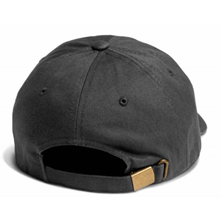 Primitive x Grizzly Script Logo Dad Cap - Grey
