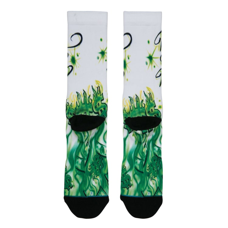 Stance Airbrushed Money Socks - Multi