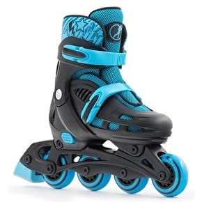 B-Stock SFR Spirit Roller Blades - Black/Blue 3-6 (box damage)