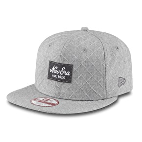 New Era 9Fifty Snapback Cap - Quilted Logo