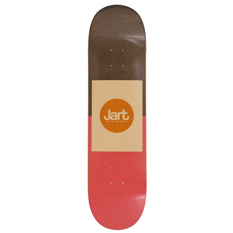 Jart Frame Skateboard Deck - Red 8.25""