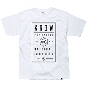 Kr3w Brick T-Shirt - White