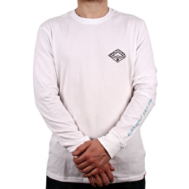 Element Layer Long Sleeve T Shirt - Optic White