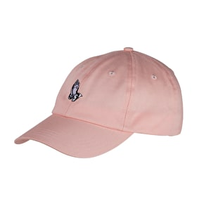 Santa Cruz JJ Pray Pink Slip Six Panel Cap - Pink