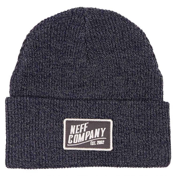 Neff Station Beanie - Grey/Navy