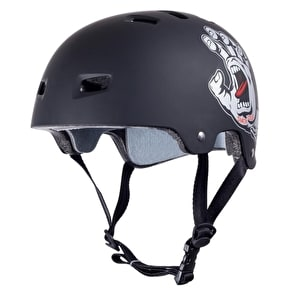 Bullet / Santa Cruz Colab Screaming Hand Graphic Helmet - Black Small/Medium (B-Stock)