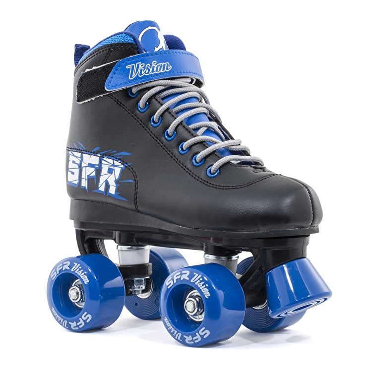 B-Stock SFR Vision II Quad Skates - Blue - Junior UK 11 (Box Damage)