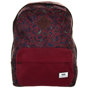 Vans Old Skool Plus Backpack - Bordeaux