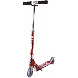 Micro Sprite Complete Folding Scooter - Red Stripe