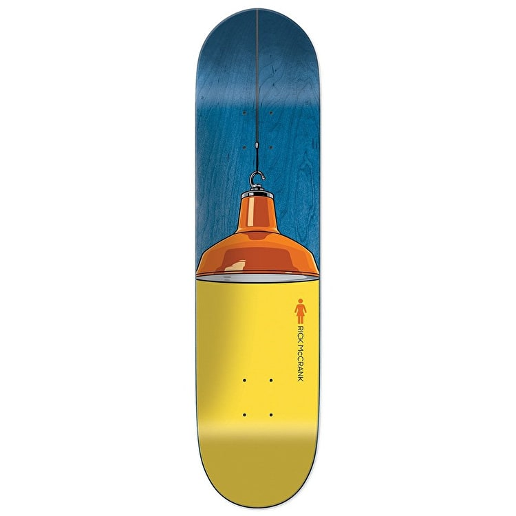 Girl Illuminated Skateboard Deck - McCrank 8.125""