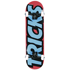 Tricks Logo Mini Skateboard - 7.25