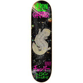 Heroin Skateboard Deck - Chopper Space Salamander 8.0