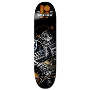 Plan B Duffy Cold Shot BLK ICE Skateboard Deck - 8.375