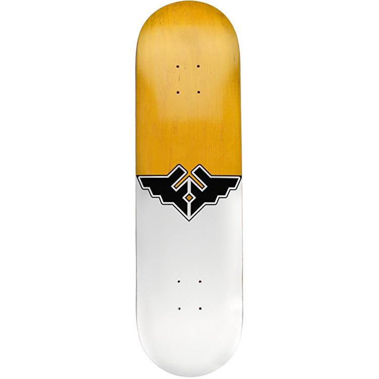 Fracture Wings V1 Skateboard Deck - Yellow 8.25""