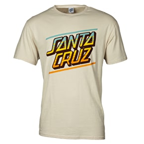 Santa Cruz Sundown T-Shirt - Vintage White