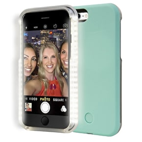 Aero Light Up LED Selfie iPhone Case - Mint Green
