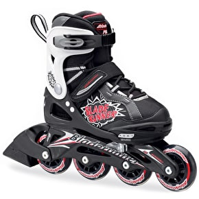Bladerunner Kids Adjustable Inline Skates - 2016 Phaser Black/Red
