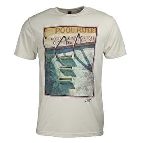 Independent Salba Pool T-Shirt - Bone