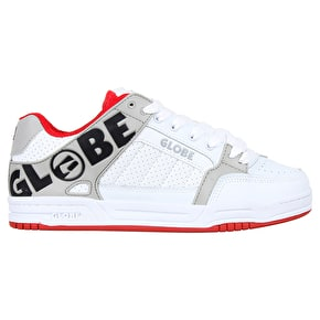 Globe Tilt Shoes - White/Red