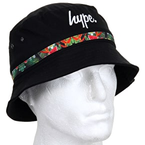 Hype Bucket Hat - Paradise - Black