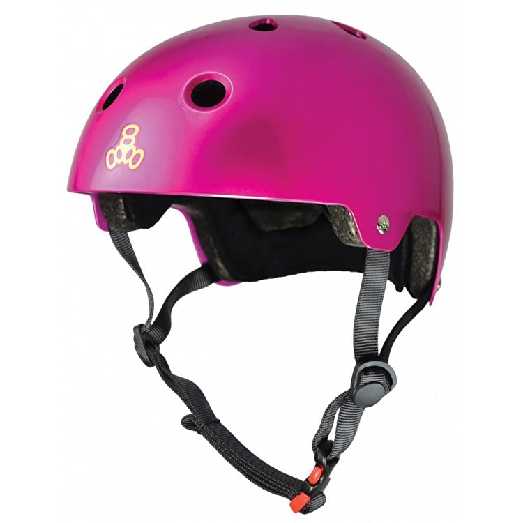 Triple 8 Brainsaver Helmet - Metallic Pink