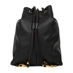 Mi-Pac Drawstring Swing Bag - Tumbled Black