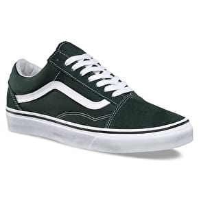 Vans Old Skool Skate Shoes - Scarab/True White