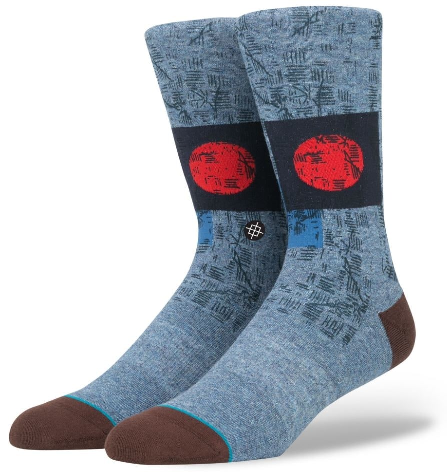 Stance Stray Socks  Blue