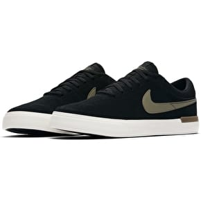 Nike SB Koston Hypervulc Skate Shoes - Black/Medium Olive