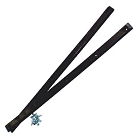 Pig Skateboard Rails - Black