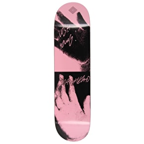 National Skateboard Co Josh Young X Catalogue Skateboard Deck - Pink - 8.125