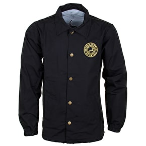 Ground Control Crest Coaches Jacket - Black