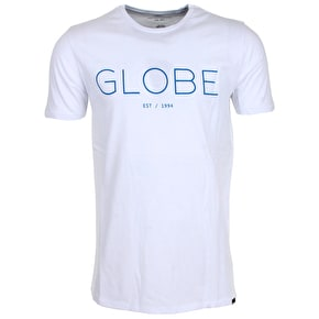 Globe Phase T-Shirt - White/Slate