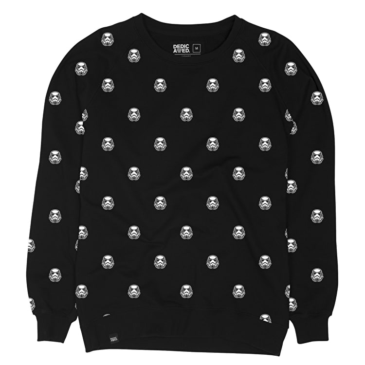 Dedicated Trooper Pattern Crewneck