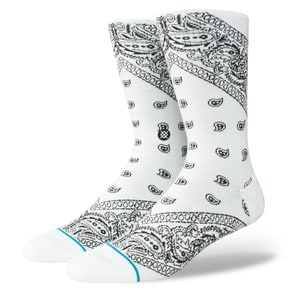 Stance Barrio Socks - White