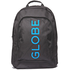 Globe Bank II Backpack - Black/Blue