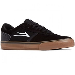 Lakai Vincent Skate Shoes - Black/Gum