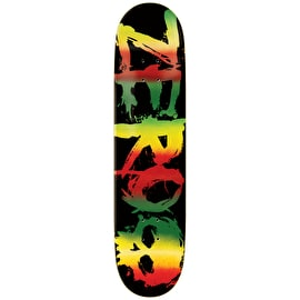 Zero Sandoval Rasta Blood Skateboard Deck 8