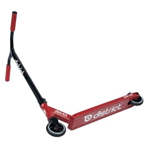 District 2017 C-Series C052 Complete Scooter - Red/Black