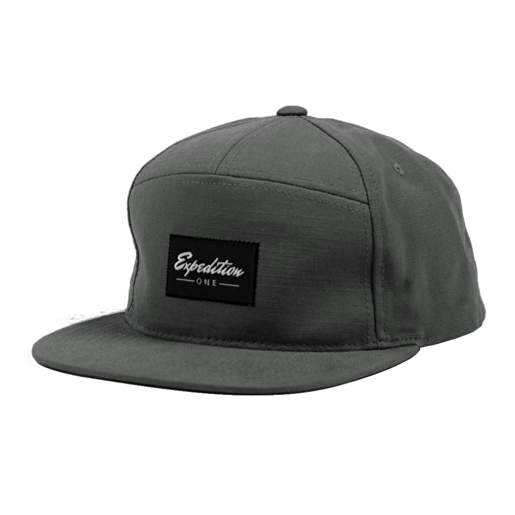 Expedition One Signature Snapback Cap - Charcoal