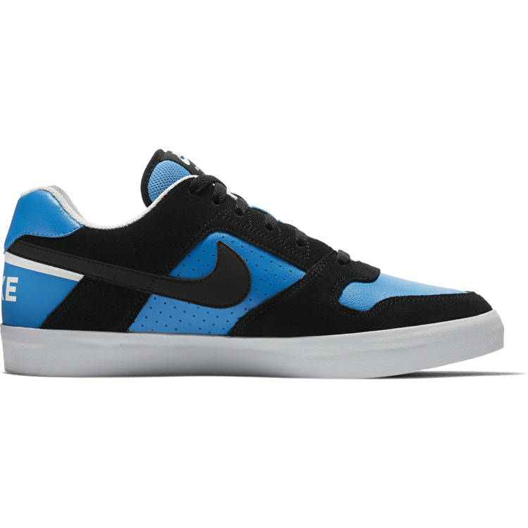 Nike SB Delta Force Vulc Skate Shoes - Black/Black