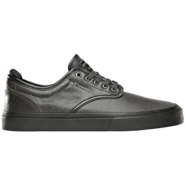 Emerica Wino G6 x Pendleton Skate Shoes - Dark Grey/Black