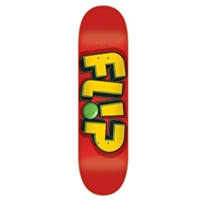 Flip Skateboard Deck Odyssey Jumbled - Red 8