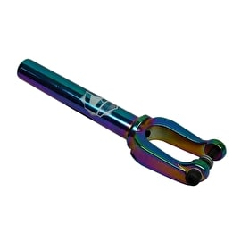 Crisp Evolution SCS Scooter Forks - Neochrome