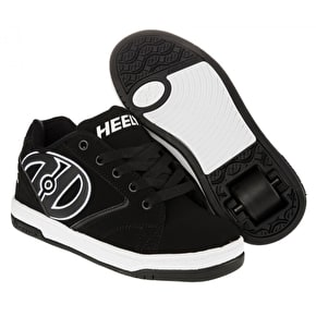 B-Stock Heelys Propel 2.0 - Black/White - UK 4 (Returned)