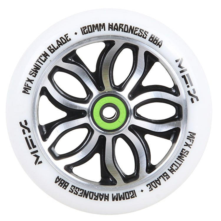 MGP MFX Switch Blade Scooter Wheel - R Willy Signature 120mm White