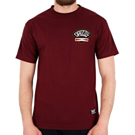 Grizzly G&C Classic T shirt - Burgundy