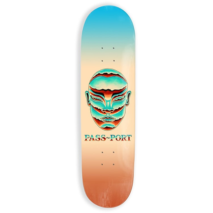 Pass-Port Chrome Series - Lady Skateboard Deck 8""