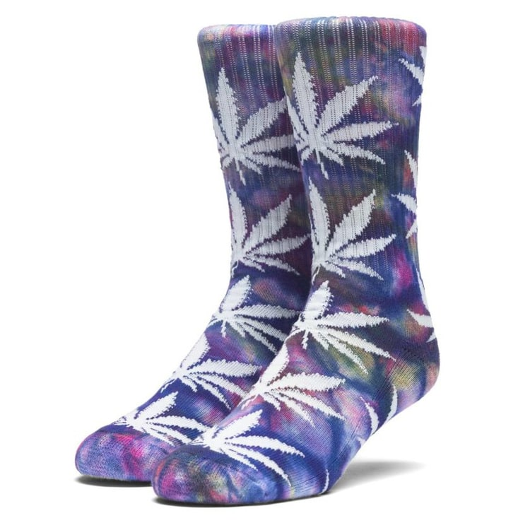 Huf Tiedye Plantlife Socks - Multi