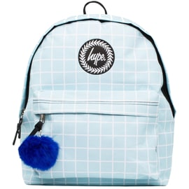Hype Gridwork Backpack - Light Blue